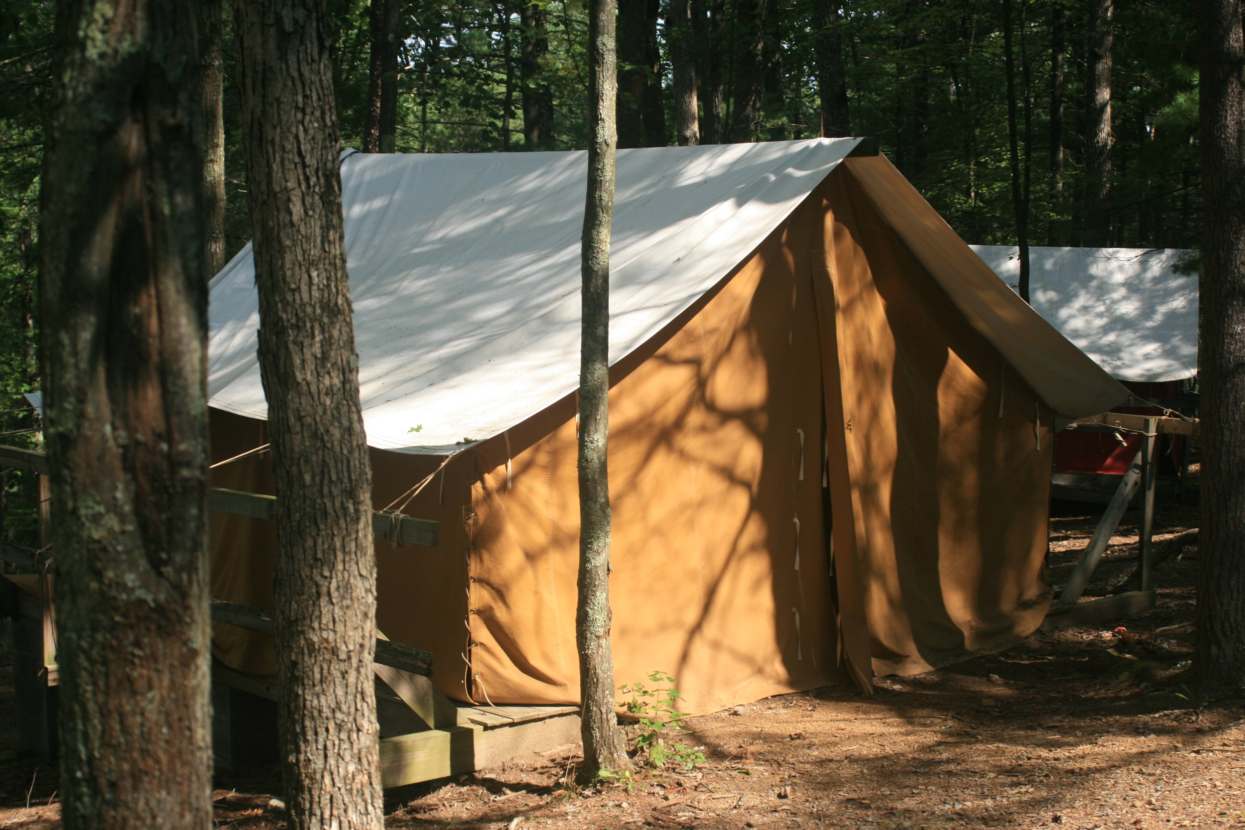 Some of your guests may prefer to sleep under canvas!