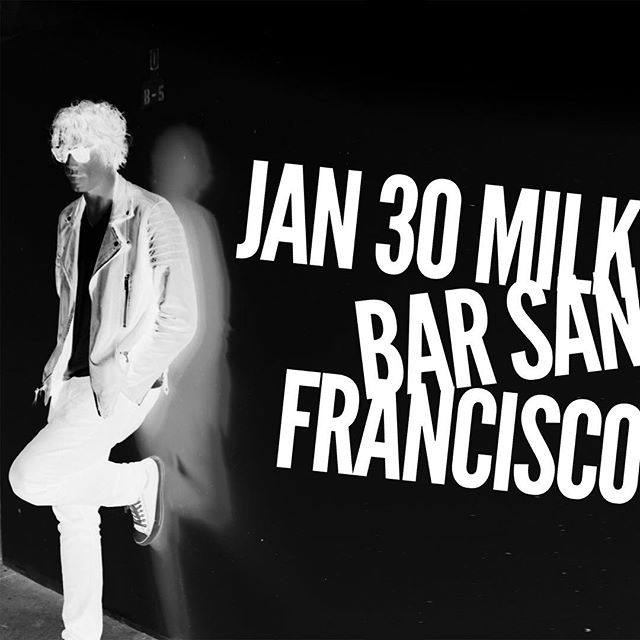 Kicking off the year with a band show!  Jan 30 @themilkbarsf - playing at 9pm, $10 - let's get loud!