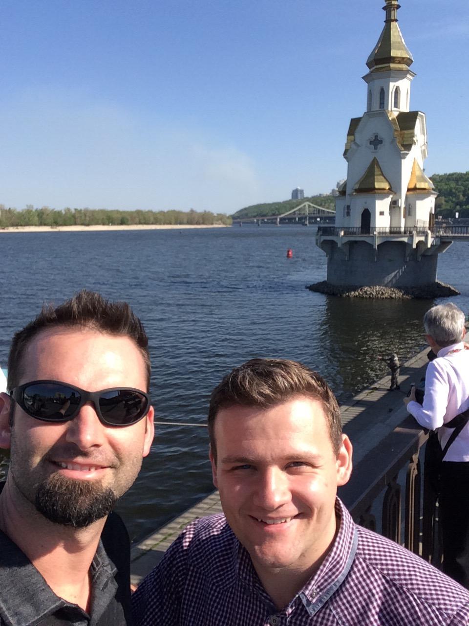 Arrival in Kiev