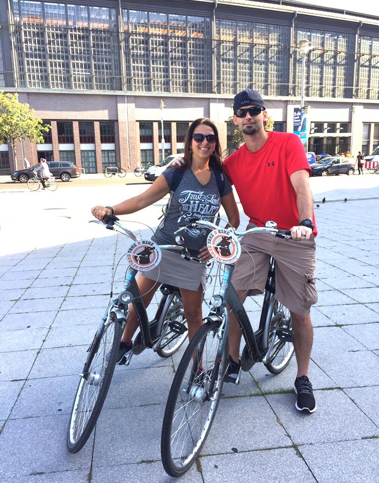 Biking Through Berlin