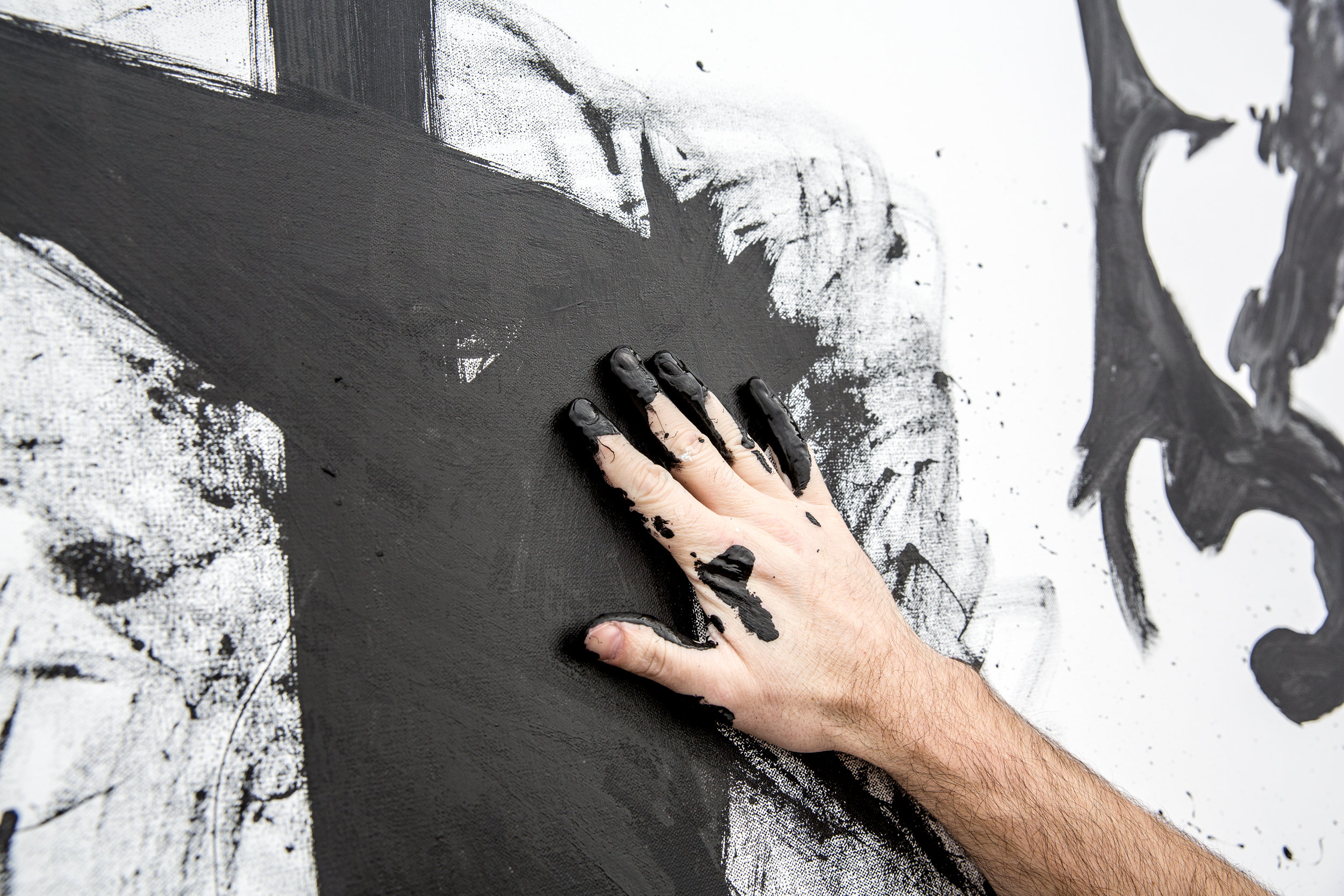 Speed Painting with hands