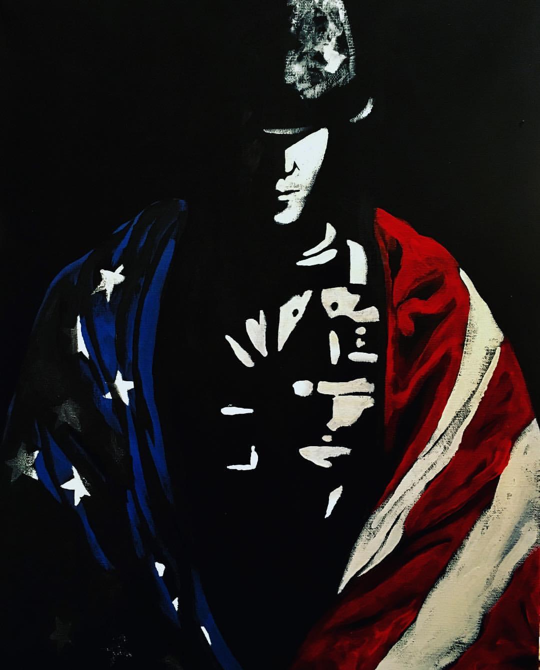 US Flag Solider