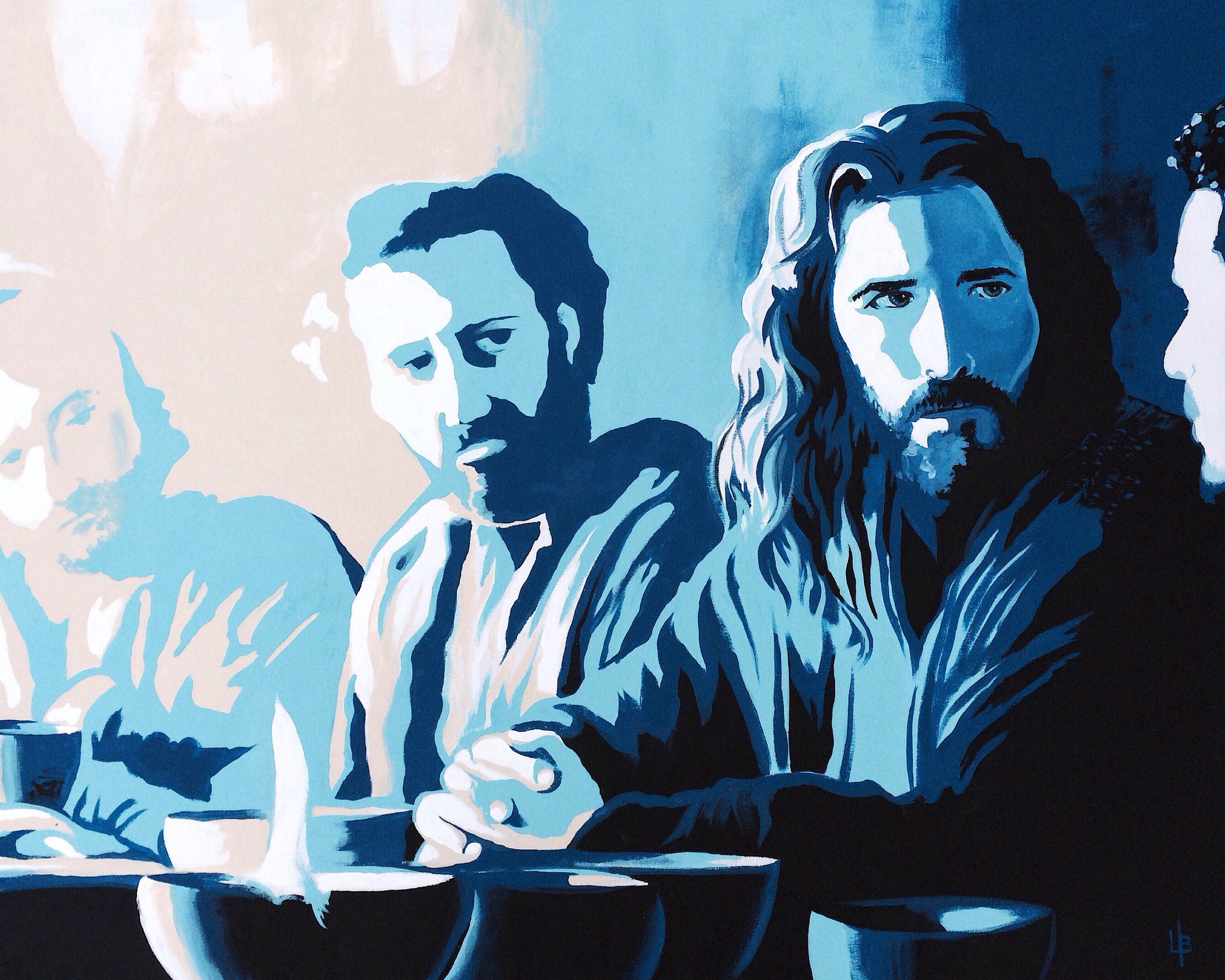 Last Supper - Jesus Art