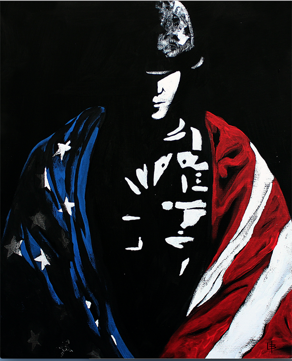 Protector - Soldier with Flag