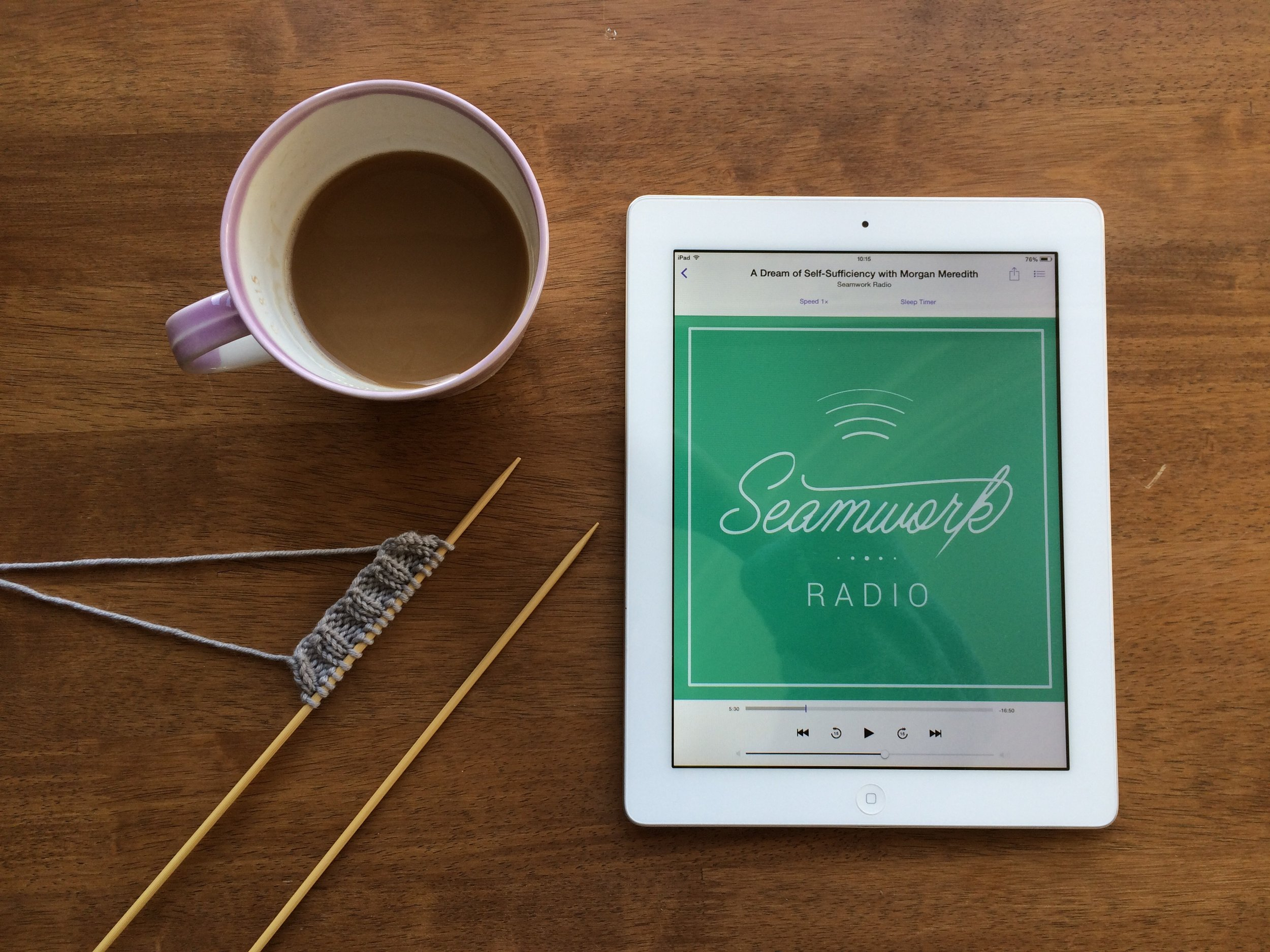 what's your favourite podcast? www.craftworksblog.com