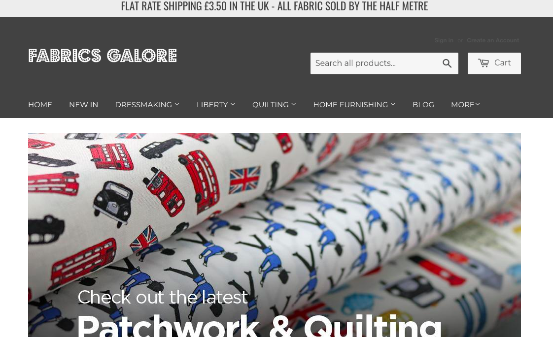 Fabrics Galore