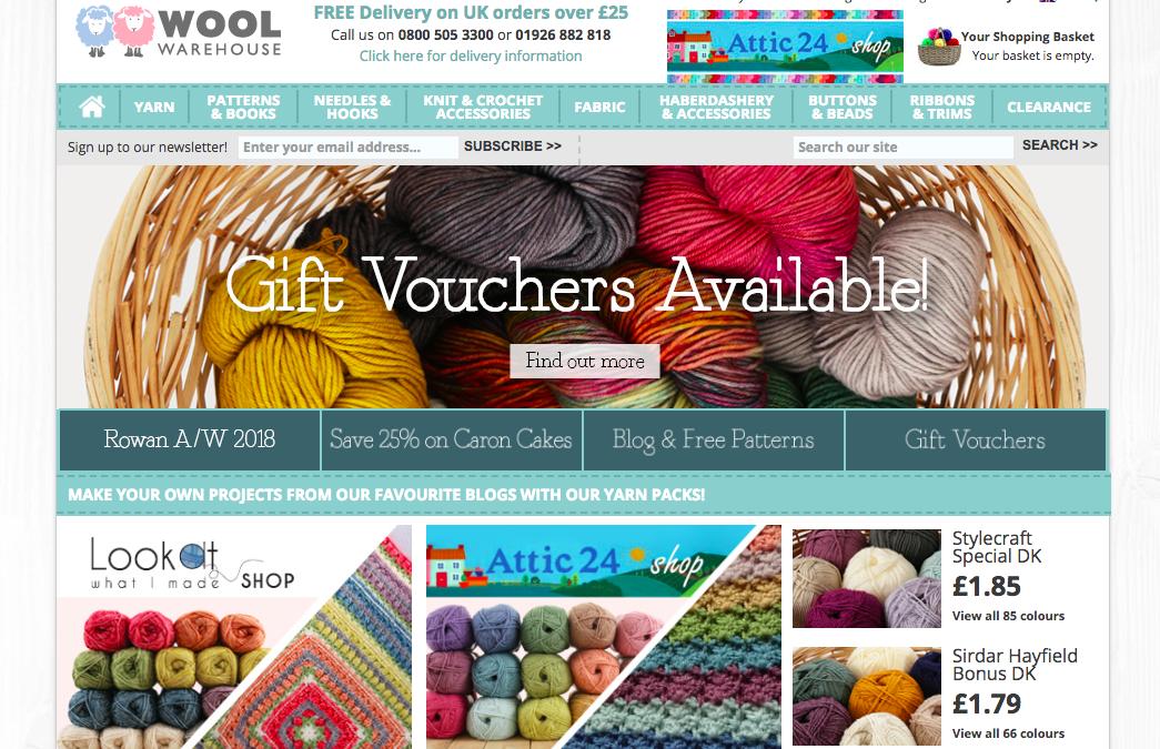 online yarn shopping