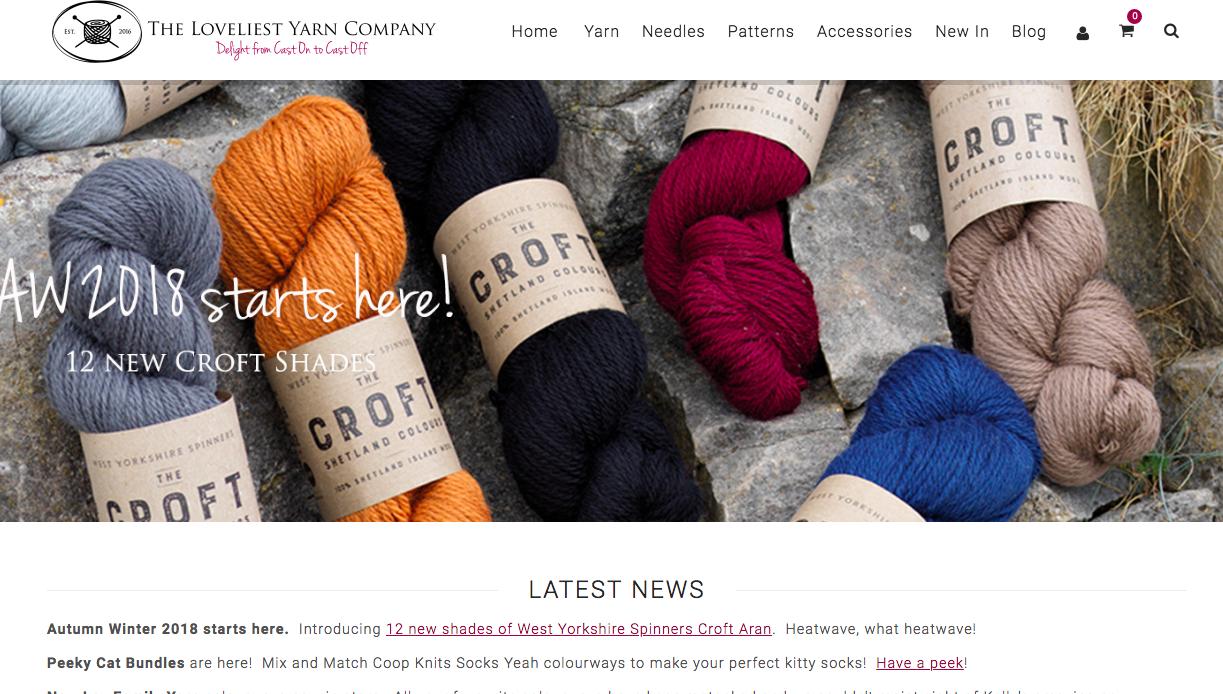 buying yarn online
