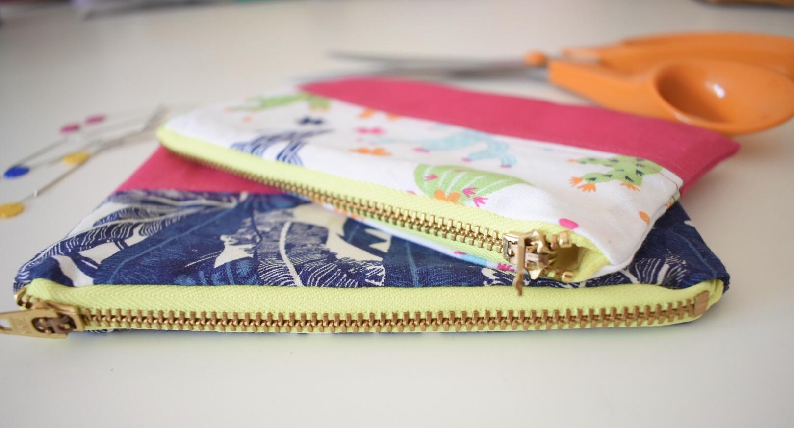diy zip pouches