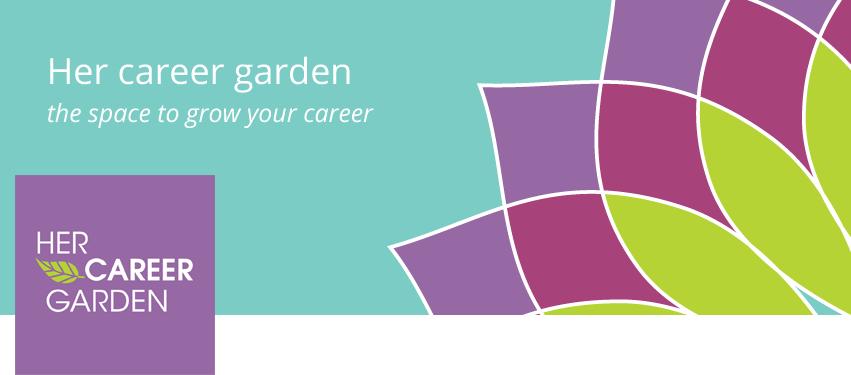Her Career Garden - Logo design and Facebook banner