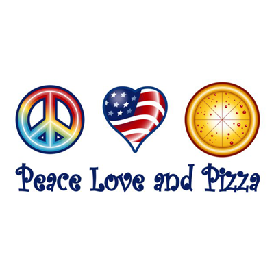 Peace Love and Pizza   http://www.peaceloveandpizza.com