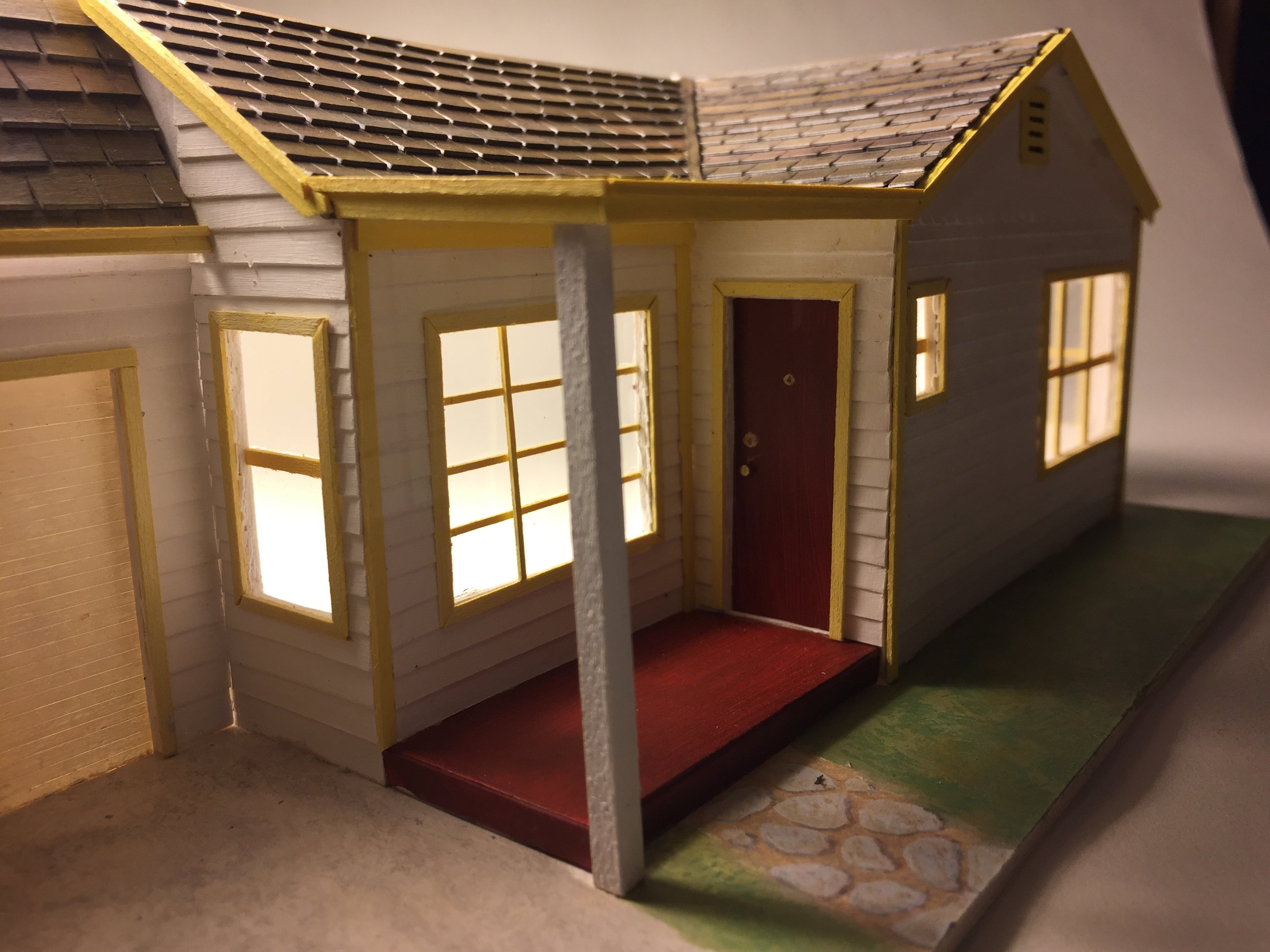 """My Childhood Home 1/4"""" = 1'-0"""" scale"""