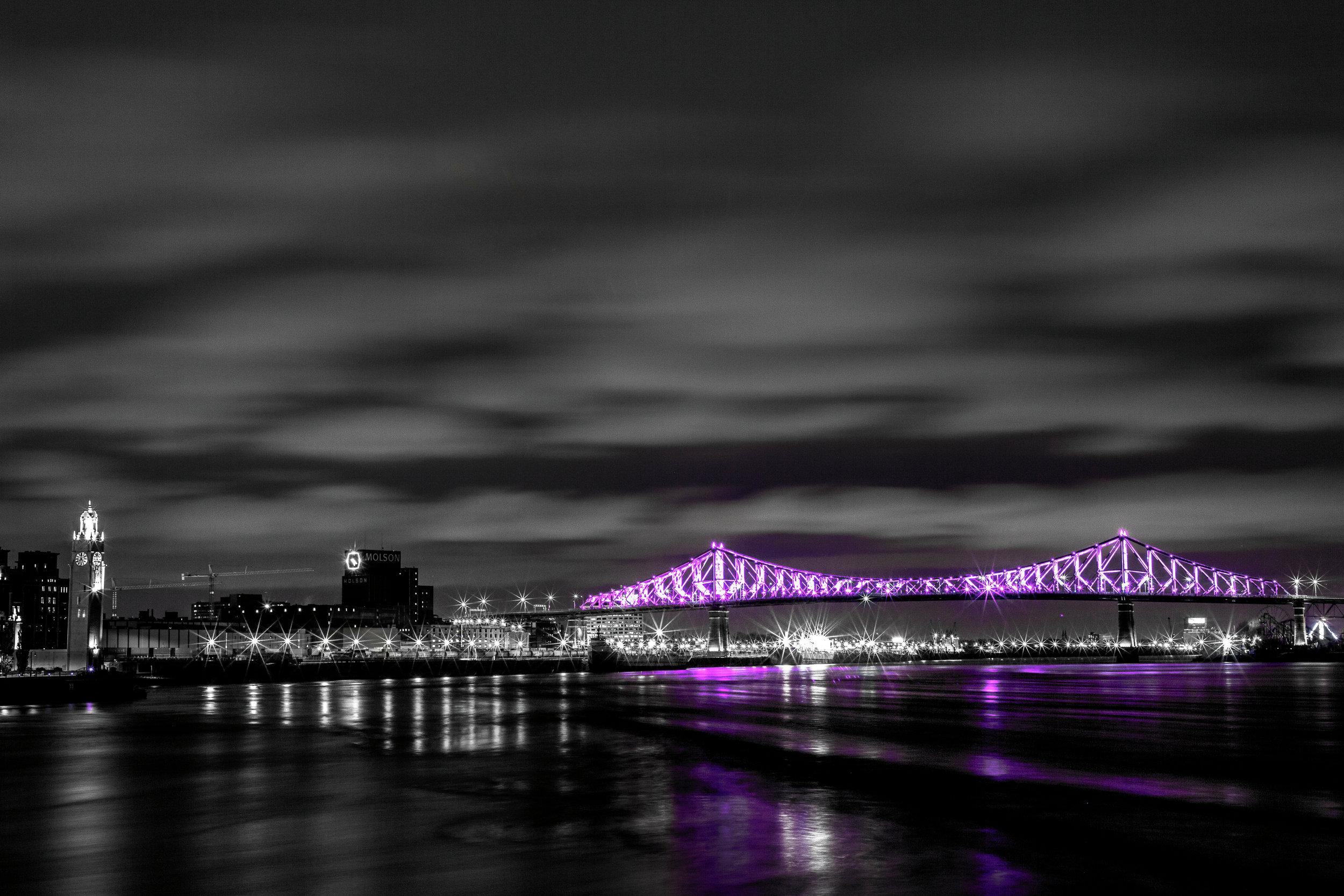 Jacques Cartier bridge, Montreal, QC, Canada