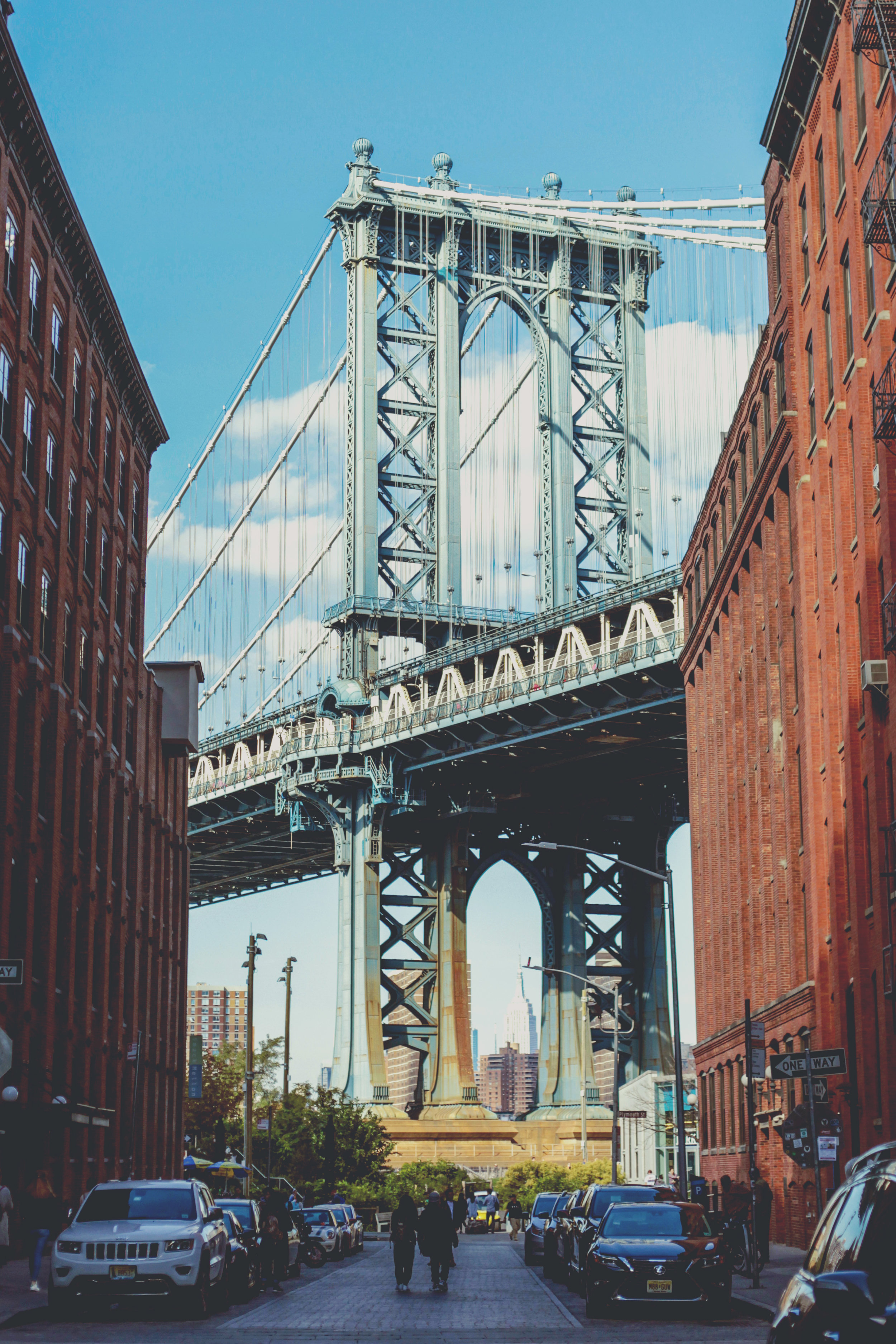 The Manhattan Bridge, NYC