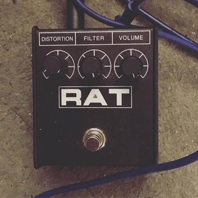 Haven't used one of these in a while... #hellodarknessmyoldfriend #rat #distortion #bass #recording #croydon #noisey #fun #notsolongnexttime