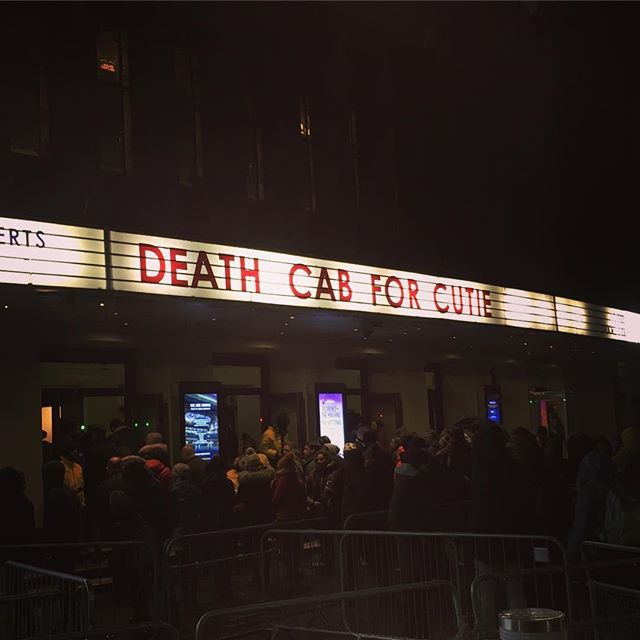 Great to see the masters again @deathcabforcutie @jasonmcgerr @gibbstack #that #makes #6 #? #livemusic