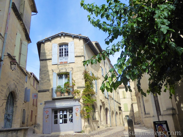 Shutters on the streets of Uzes