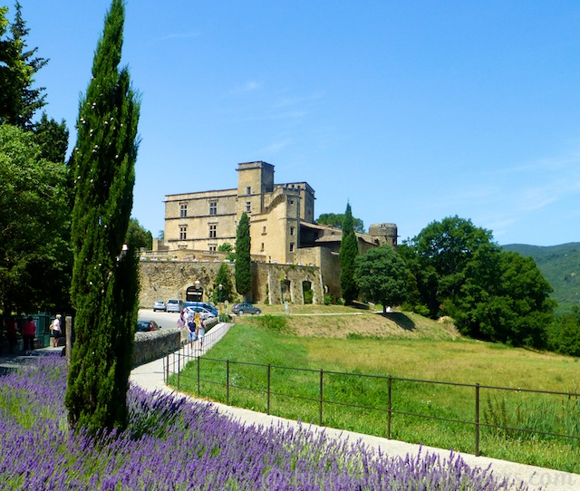 Chateau in Lourmarin