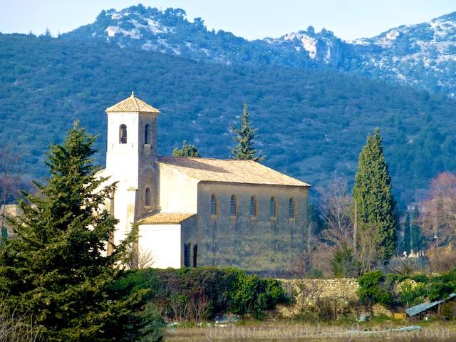 Church in Lourmarin