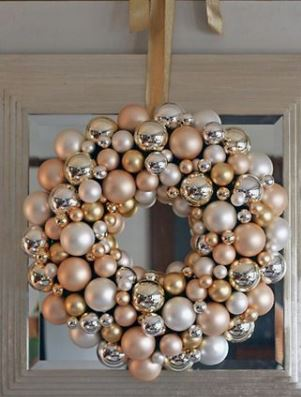 gold and silver ornament wreath.JPG