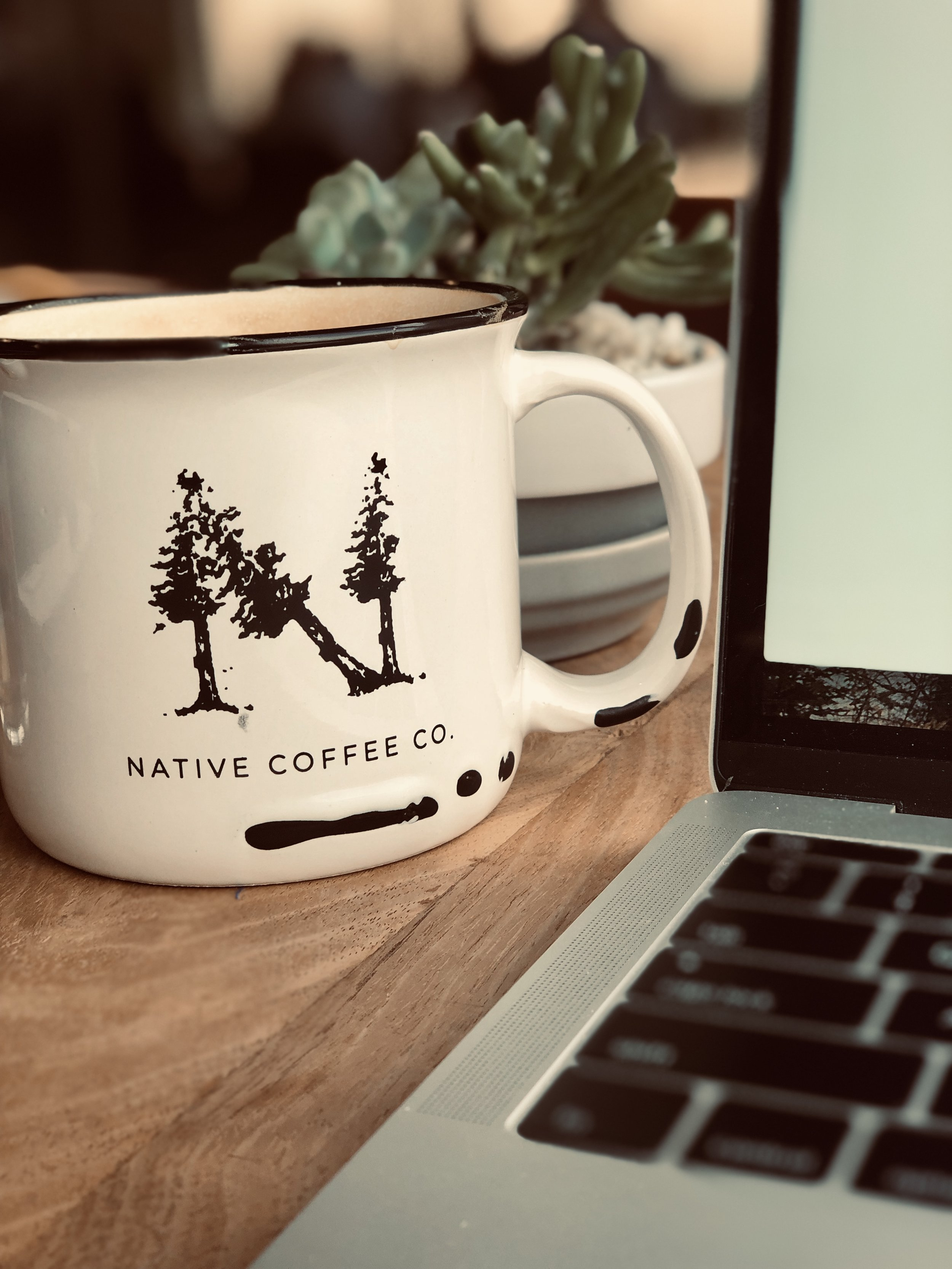 Before writing group last night I spent time at a new-is coffee shop in North Dallas (Addison) called  Native Coffee Co . Cozy, quiet, and delicious warm drinks! I'll definitely be back.