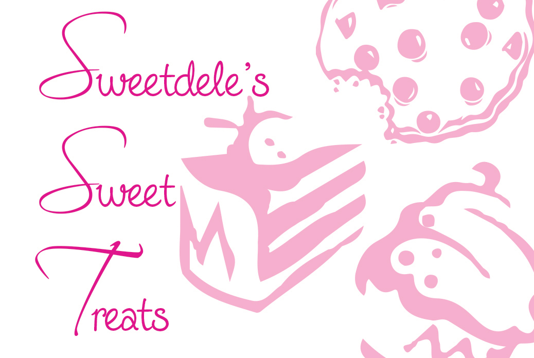 sweetdele's sweet treats logo