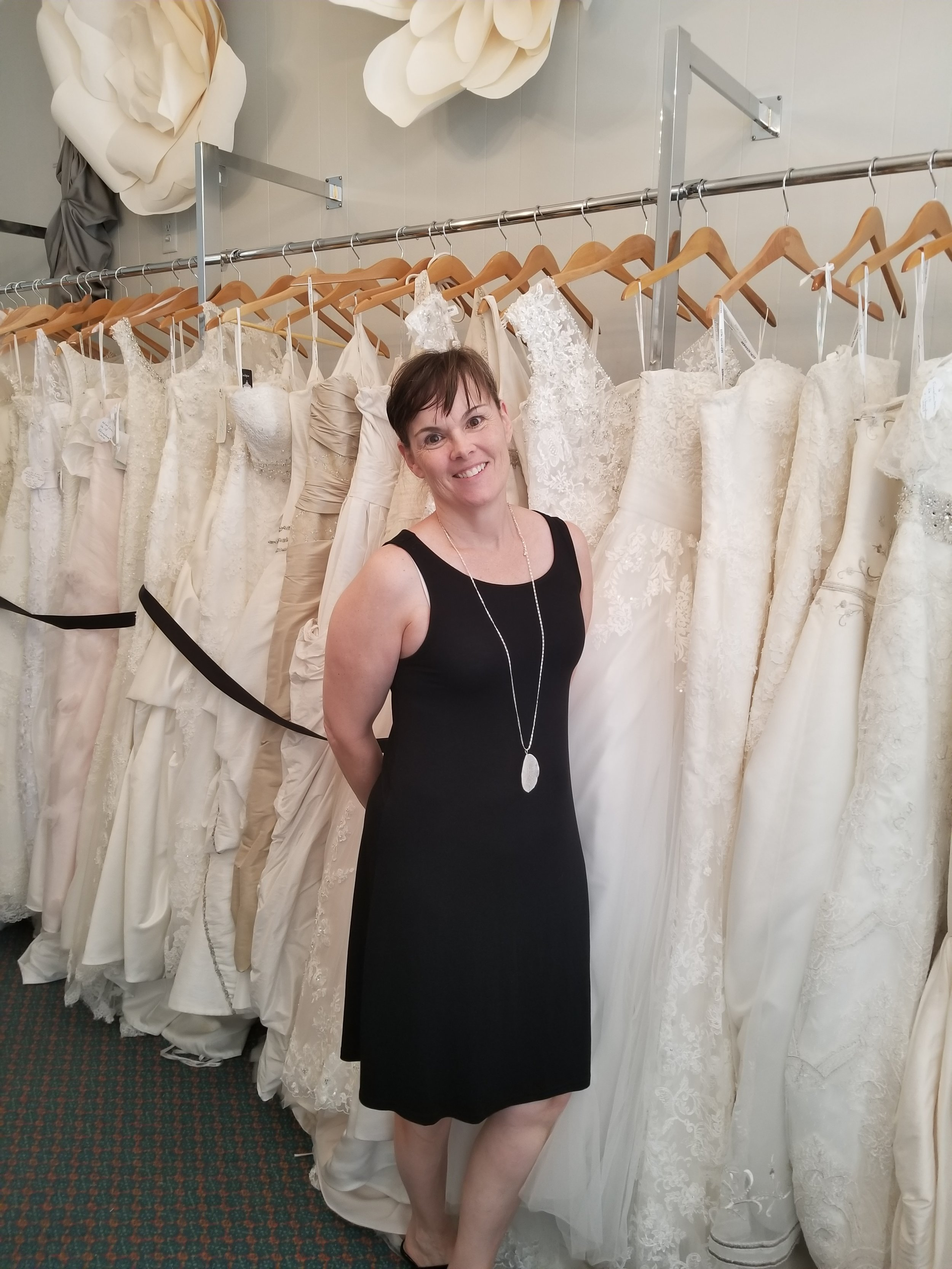 Blush Boutique  - We had the opportunity to visit one of the newest bridal shop in New Bern, NC. Blush Boutique, located on 222 Craven Street in New Bern, NC. As you enter the boutique you are welcomed with beautiful gowns, sparkling veils, and accessories. The shop offers a wide range selection of wedding gowns from high end designers (such as Enzoani, Vera Wang, Kitty Chen, Henri Roth, Pronovias, and more). in a range of styles. The owner, Jean Lloyd, recently opened the shop to provide a boutique experience with designer gowns and accessories to meet the needs of brides in New Bern and surrounding areas.  The shop also offers designer formal shoes, sashes, and jewelry as well.  At Blush, wedding gowns are purchased off the rack and alternations are done offsite at the buyer's discretion. Blush is not a consignment shop and only sells new designer gowns and accessories. The boutique is open daily Tuesday – Saturday for shopping and gown fittings.  Everyone is welcome to come and shop anytime during shop hours. Blush offers brides private appointments for fittings so that they can give every bride the personal boutique experience. Call 252-497-8875 to schedule your private fitting. You can also visit their website to view the dresses at www.etsy.com/shop/blusbboutiqueetsy.