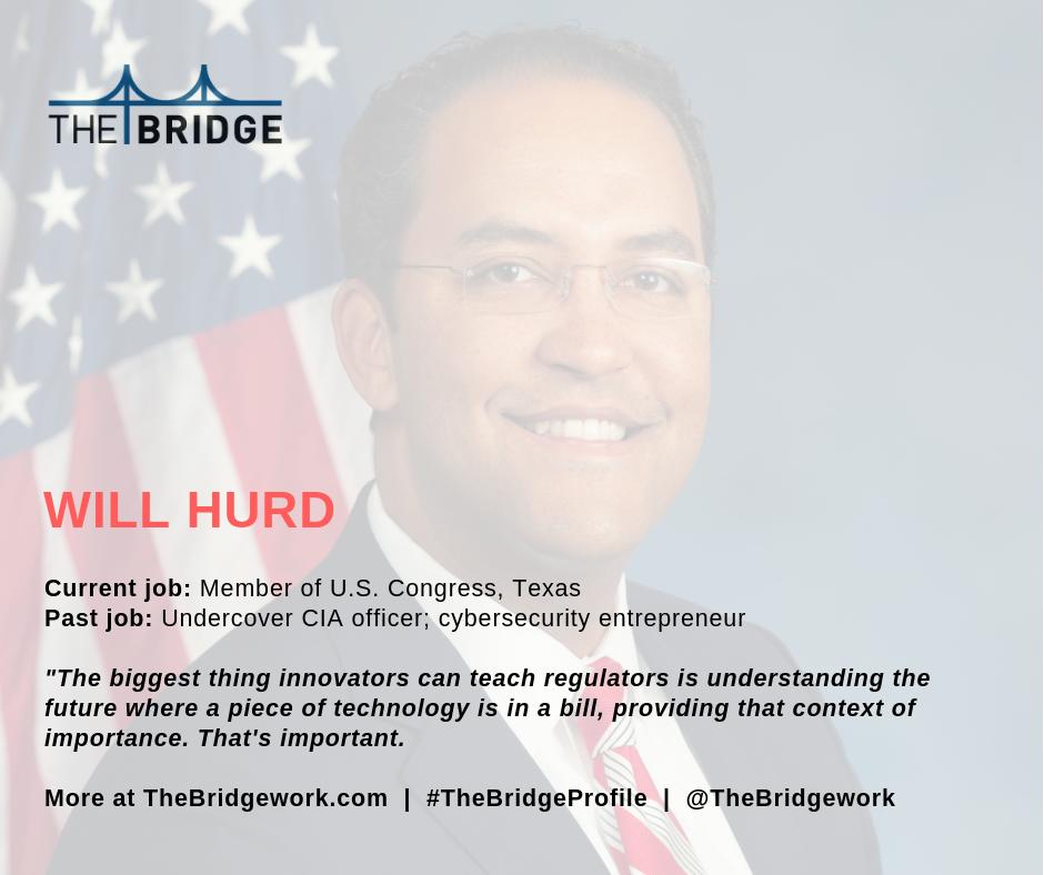 US Congressman Will Hurd