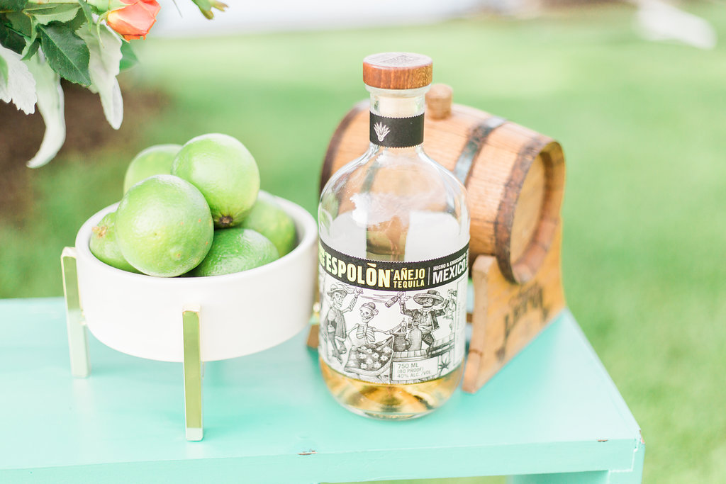 Fresh limes and Tequila are what make the heart happy.  Photographer:  Cynthia Boyle