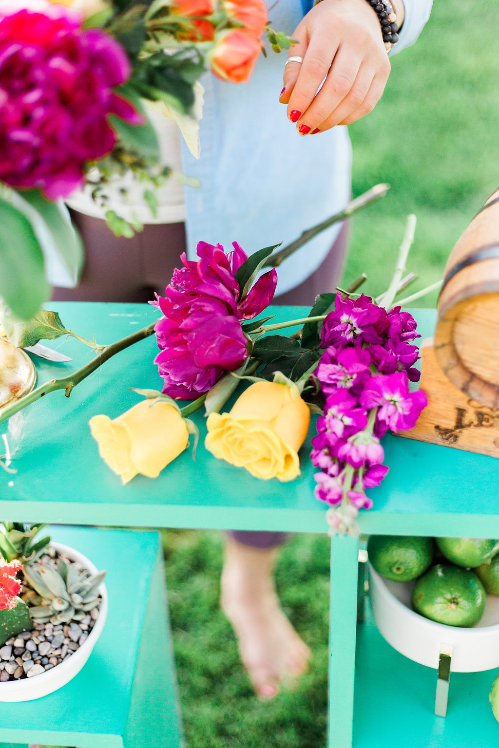 Why Hire A Florist For Your Wedding - Flower's aren't as glamorous as one may believe. Save yourself the stress.