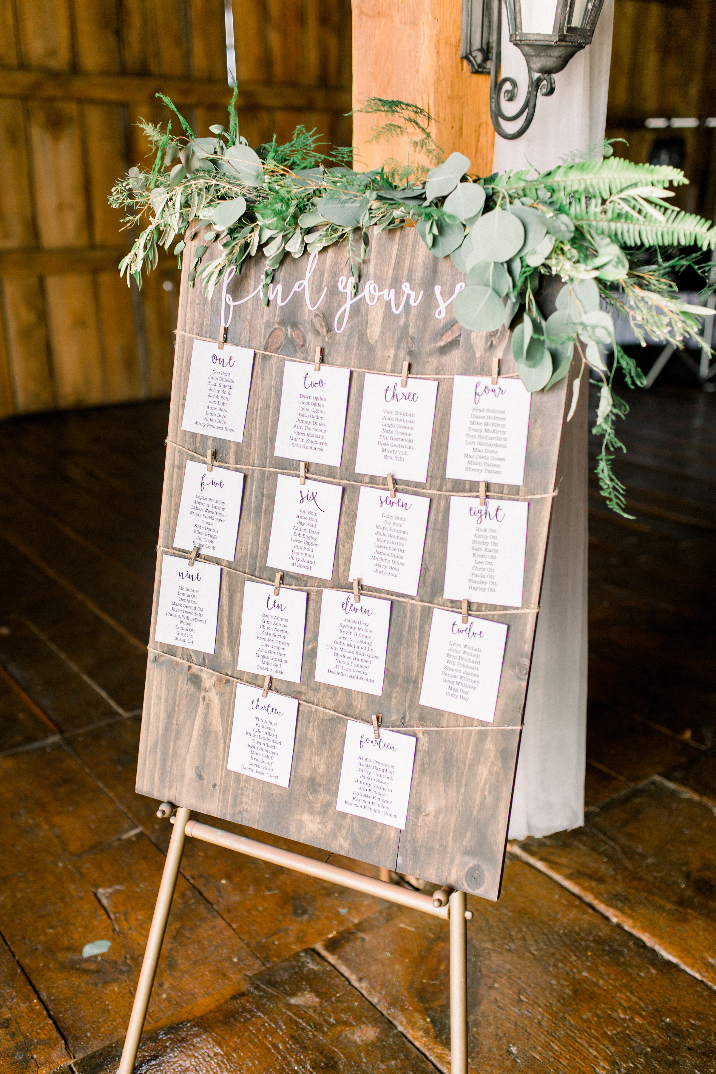 Placecard Sign