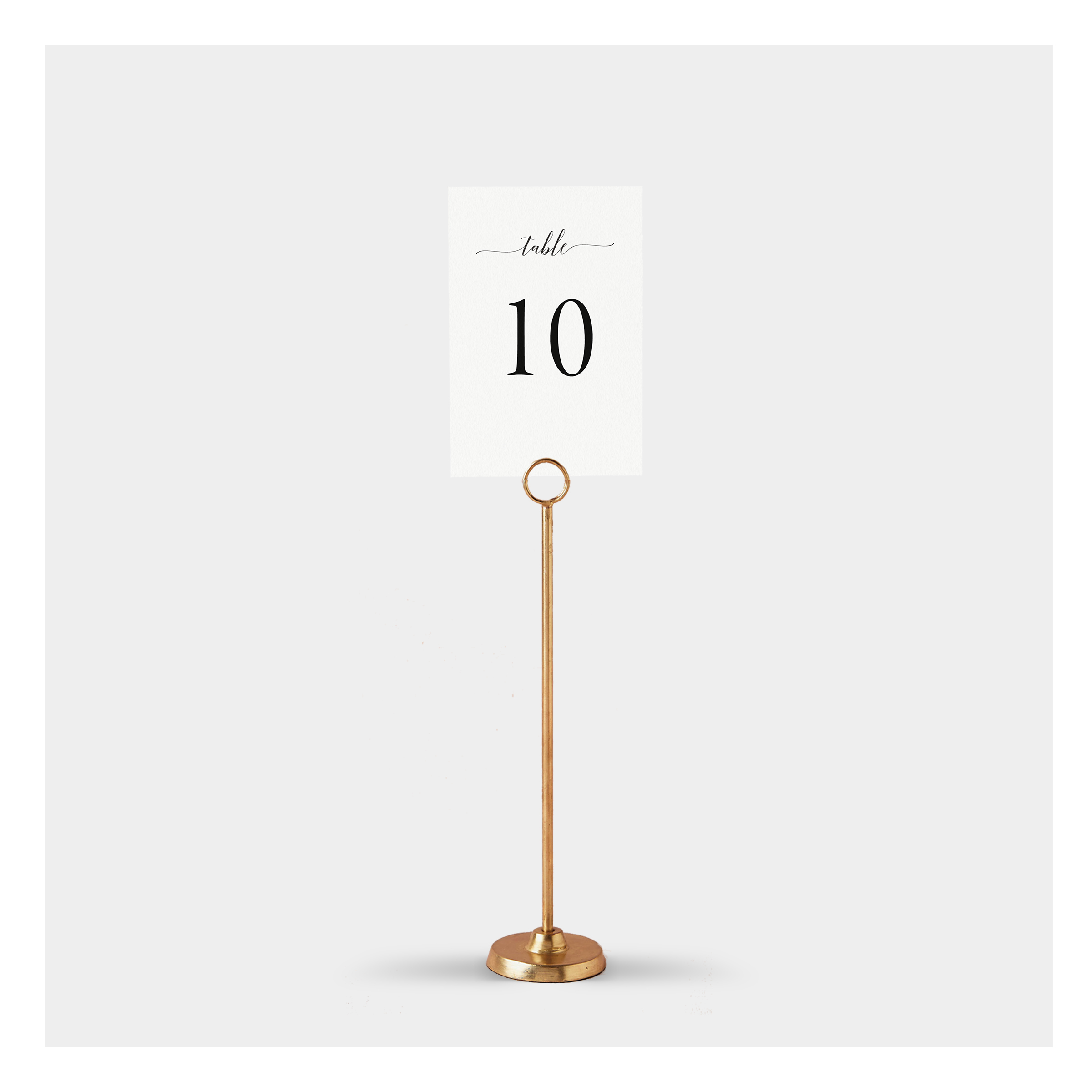 It is a picture of Printable Wedding Table Numbers pertaining to card