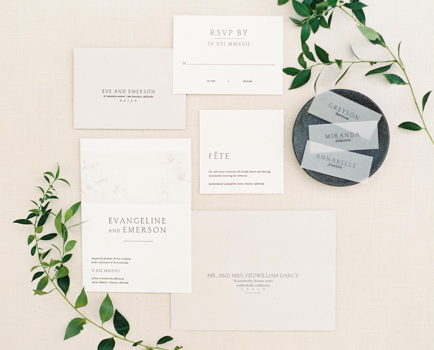 Wedding paper made simple. - We have everything you need for the perfect wedding suite.
