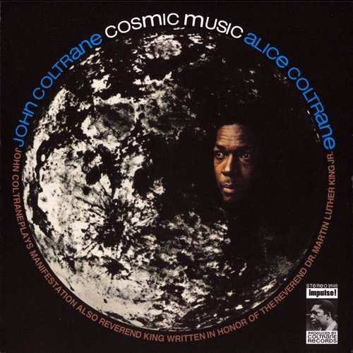 <i>Cosmic Music With John Coltrane</i><br>Available on Amazon and ITunes<br>1968