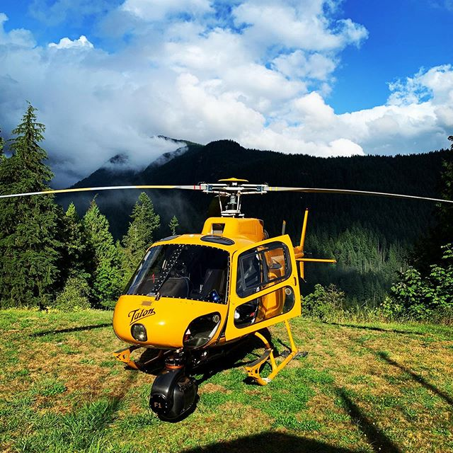 #goodtimes the other day with @taloncopters @helikelsey @northshorerescue and @filmer_baldwin with our @shotovercamera #shotoverf1 #bigpuffyclouds #northshore #bonecreek #lynncanyon @airfilm @reddigitalcinema @canoncanada