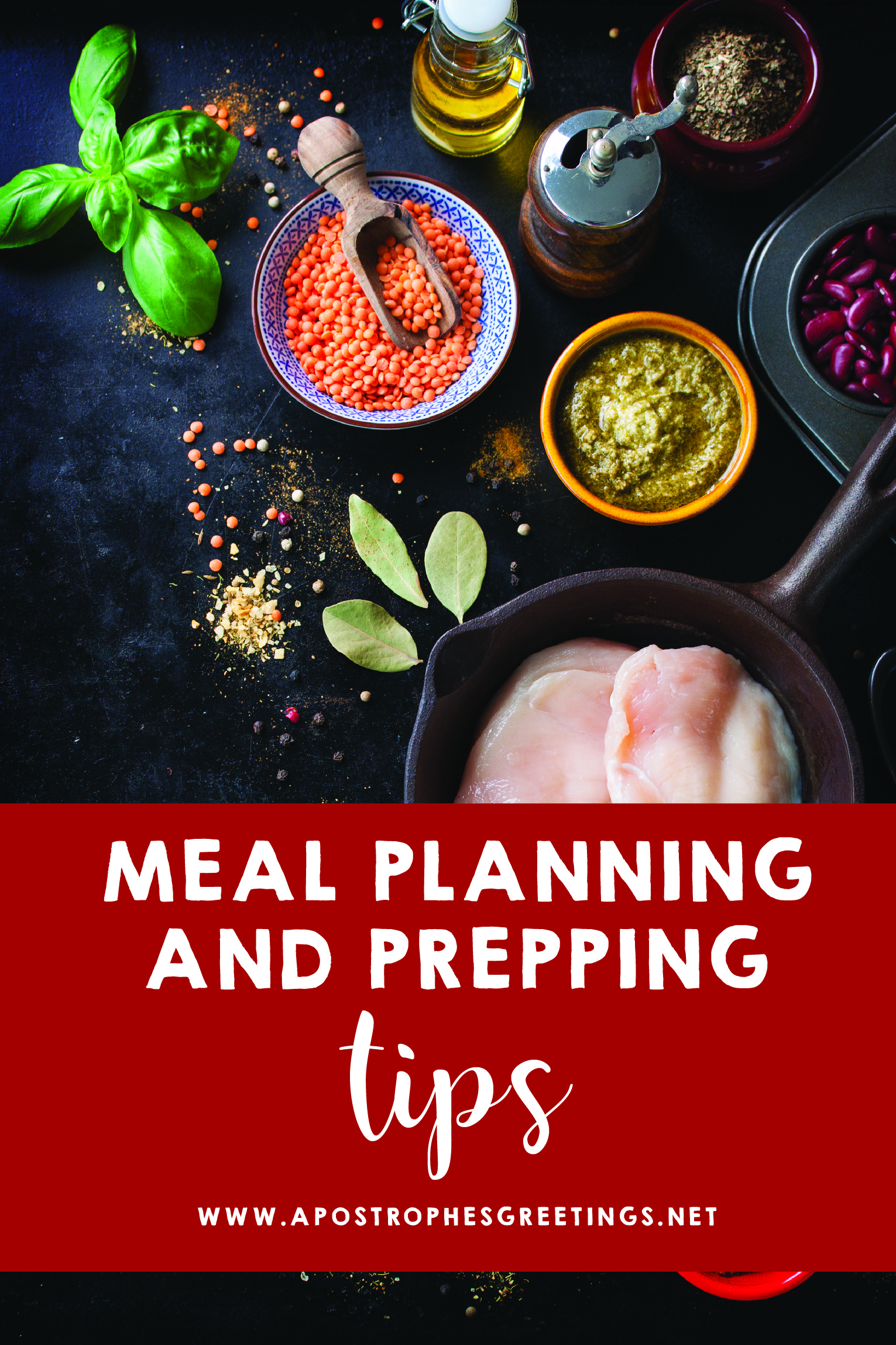 Meal Planning and Meal Prepping Tips for Busy Families
