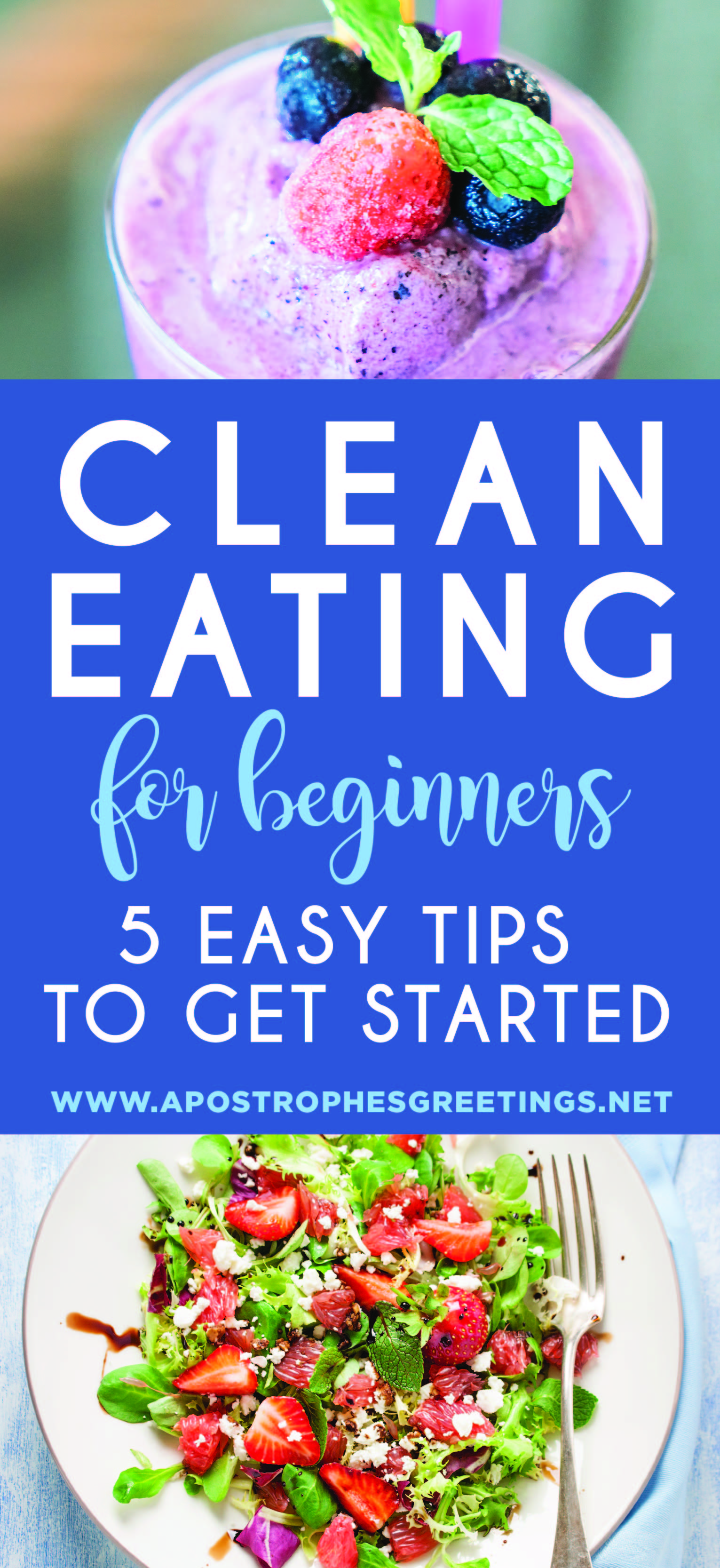 5 Easy ways to start eating clean