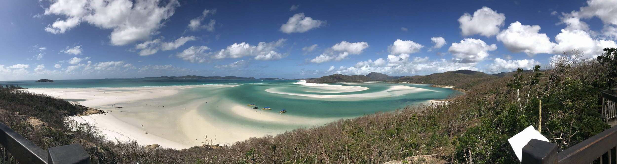 Whitehaven Beach Lookout Point