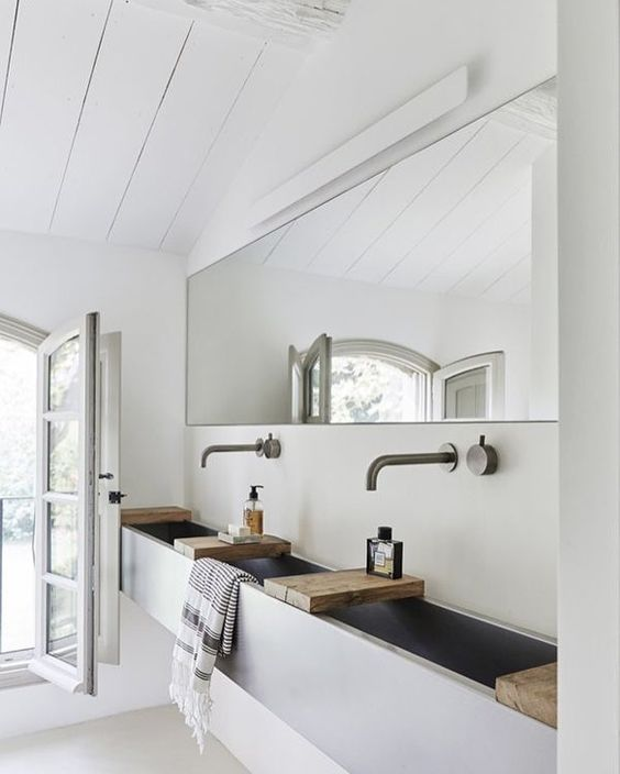 THIS! concrete basin/vanity. LOVE!