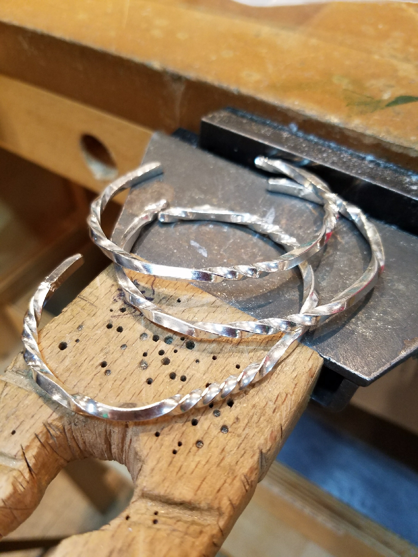 Nancy Going - Twisted Cuff Bracelet in Sterling Silver.jpeg