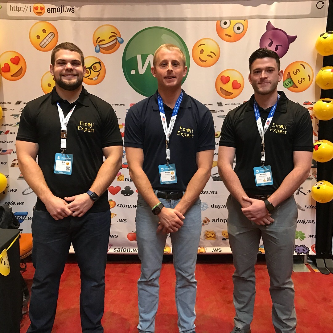 Emoji Empires Co-Founders team picture. Got any questions? we'd be happy to answer them!  Contact Us!