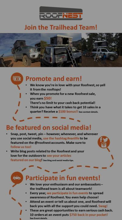 Roofnest Flock Ambassador Program - Click to learn more