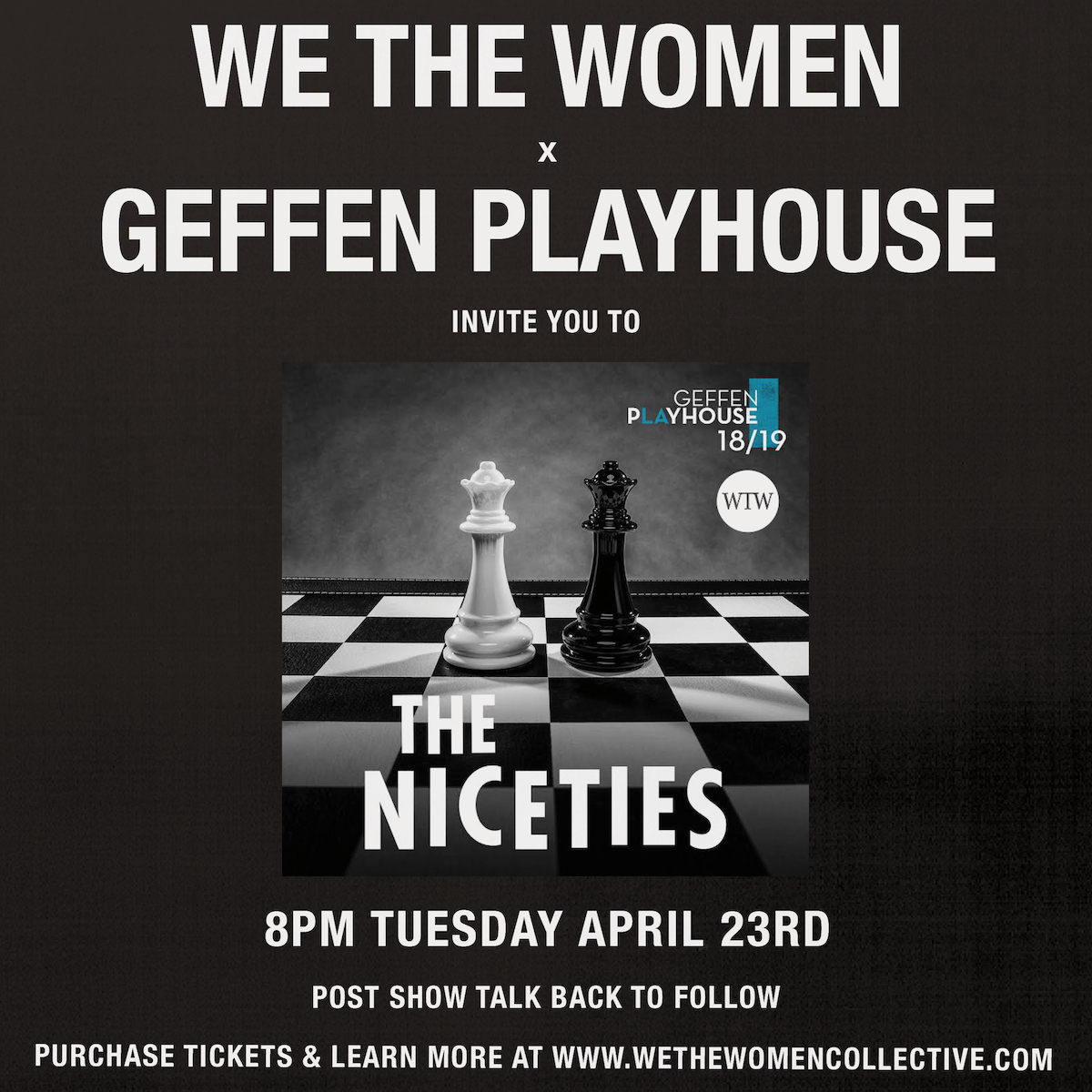 the niceties -