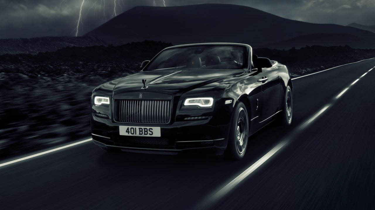 Rolls-Royce Dawn Black Badge. Photo courtesy of Top Gear.