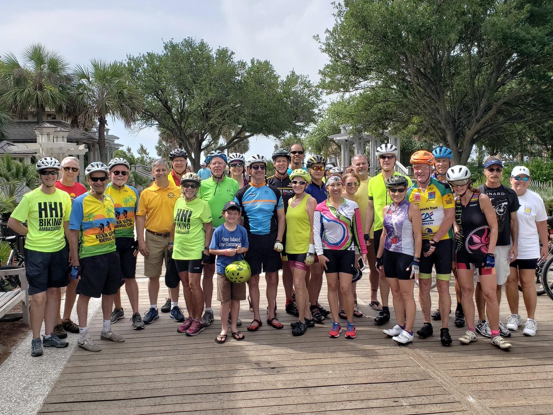Celebrating National Bike Month with a Community Beach Bike Ride.