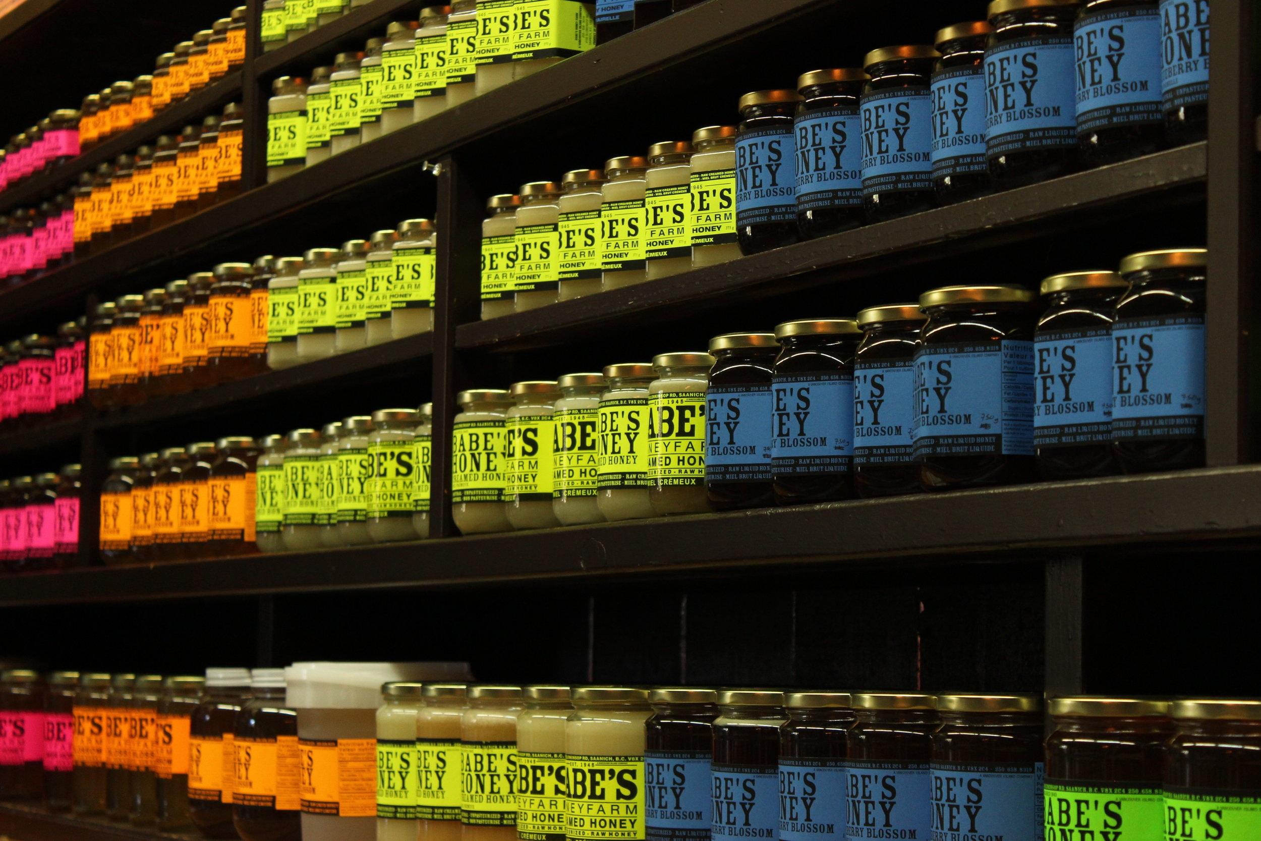 Honey Shelves