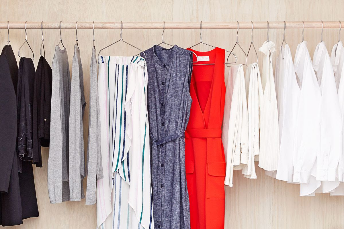 the life-changing magic of a closet full of clothing rentals  😍
