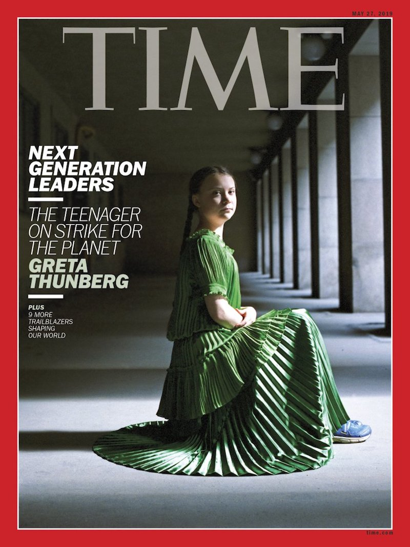 """We shouldn't see Greta as a young cute thing,"" said    TIME cover    photographer Hellen van Meene. She's a serious girl with a serious message."""