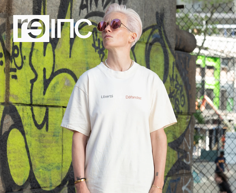 Loving    the new inclusive, nonbinary fashion line    from the U.S. Women's World Cup champs. Now how about making those tees from organic cotton?  😉  (�� reader Jackie for sharing)