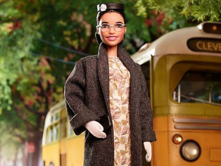 Crushing on the new    Rosa Parks Barbie    doll  😍